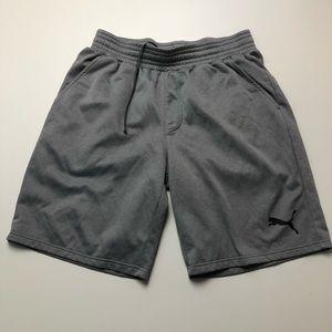 Puma Gray Shorts Mens Large Athletic